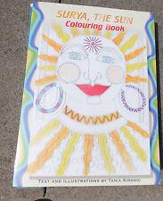 Adulti & Dei bambini Libro da Colorare Surya,Il Sole da Tania Sironic