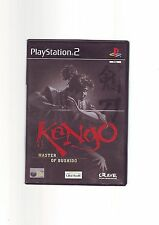 KENGO: MASTER OF BUSHIDO - SONY PS2 GAME - FAST POST - COMPLETE WITH MANUAL  VGC