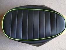 Motorcycle seat cover - Honda Skyteam Dax with green piping