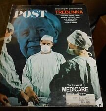 VINTAGE MAGAZINE~THE SATURDAY EVENING POST~MAY 20, 1967~1ST YEAR OF MEDICARE