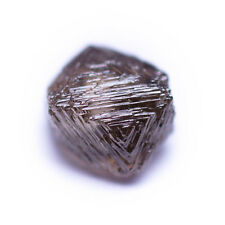 0.35 Carat VS1 Chocolate Cacao Brown Octahedron Diamond Natural Rough Untreated