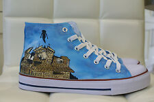 PIERCE THE VEIL INSPIRED CUSTOM HAND PAINTED HIGH TOPS MADE TO ORDER