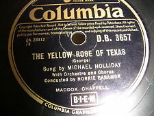 3/1 Michael Holliday - The Yellow Rose Of Texas - Stein Song