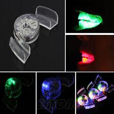 Couleur lumière LED Clignotant Bouche Dents Guard Pièce Gadget Rempli Fête