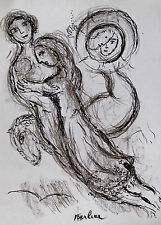 CHAGALL - FOUR (4) ORIGINAL LITHOGRAPHS PARIS OPERA - 1964 - SPECIAL $ 60  !!!