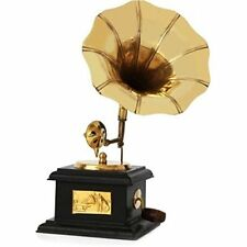 ANTIQUE SHOWPIECE HANDMADE DECORATIVE VINTAGE STYLE GRAMOPHONE DUMMY MODEL BM170