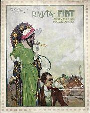 P.Codognato-FIAT-Moda-Cavalli-corse-galoppo-ippodromo-eleganza marzo-aprile 1924
