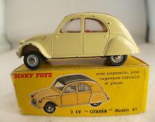 Dinky Toys F n° 558 Citroën 2CV modèle 1961 en boite