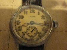 Vintage Elgin 15 jewel military wrist watch