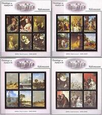 RIJKSMUSEUM PAINTINGS fr.GRENADA-GREN 2001  x4 S/S + 4 M/S ** MNH  @@ PERFECT @@