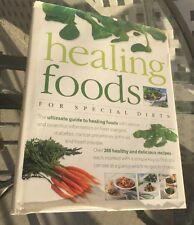 Healing Foods For Special Diets Hardback Book 2000 Diabetes Allergies Etc
