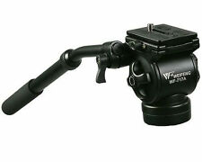 Fancier Professional Video Camera Fluid Drag Tripod Head and Handle EI717AH