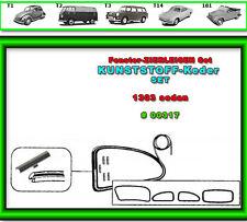 VW Käfer Scheibengummi Zierleisten Chrom Keder für 1303   #0317