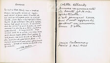 COLETTE ALLENDY Galerie DELAUNAY GLEIZES MATHIEU BRYEN CORNEILLE KLEIN 1960