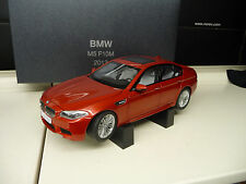 BMW M5 F10 2012 Sakhir Orange DEALER Edition Paragon Kyosho 1:18 Free Shipping