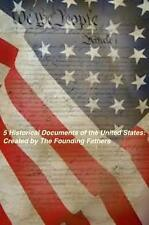 5 Historical Documents Of U.S. Audiobook on 2 CDs Constitution Declaration more