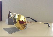 100% Authentic Oakley Caveat Sunglasses Polished Gold / 24K Gold  No. 004054-18