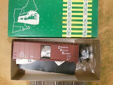HO SCALE ATHEARN/NEW ENGLAND MODELS CANADIAN PACIFIC 52958 40' BOX CAR KIT