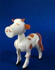 Cow Figurine Fisher Price Vintage 1975 Little People  3.5 in. x 3.5 in. Poseable