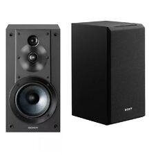 Sony SS-CS5 3-Way 3-Driver Bookshelf Speaker System - Pair (Black)( See Details=