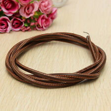 """71"""" 3/16"""" Leather Belt Treadle Parts with Hook for Singer/Jones Sewing Machine L"""