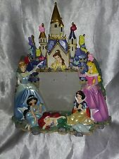 DISNEY PARKS 3D PRINCESS CASTLE PHOTO PICTURE FRAME