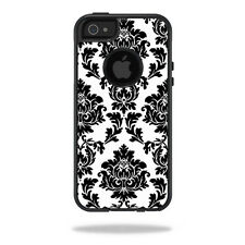 Skin Decal Wrap for OtterBox Commuter iPhone 5/5s/SE Case sticker Vintage Damask