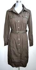 MADELEINE NEU Gr. 42 Hemd Kleid Langarm Hemdkleid Knopfleiste dress Longshirt