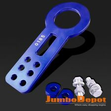Blue Anodized Aluminum CNC Towing Hooks Front Tow Hook For Dodge Ram 1500 2500