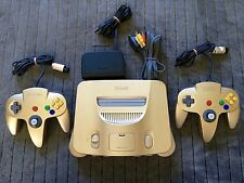 Nintendo 64 Gold Edition Console Game System - N64 - Nintendo - JAP