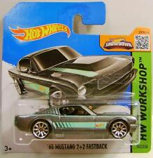 1965 '65 FORD MUSTANG 2+2 FASTBACK SHORT CARD HOT WHEELS HW DIECAST ULTRA RARE