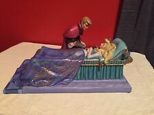 "WDCC Sleeping Beauty Prince Phillip & Princess Aurora ""Love's First Kiss"" New"
