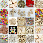Mixed Wooden Round Heart Flower Animal Buttons Sewing Craft Scrapbooking Kid DIY