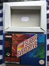 Snes Boxed Super Everdrive game cart free region Game Only A Couple Left