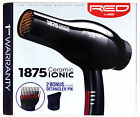 RED BY KISS CERAMIC 1875 IONIC BLOW DRYER WITH 2 ATTACHMENTS