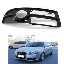 Front Lower Side Bumper Fog Light Grille Right for Audi A4 B7 S-line S4 07-09