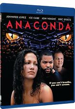 ANACONDA (1997 Jennifer Lopez)  - Blu Ray -  Region free
