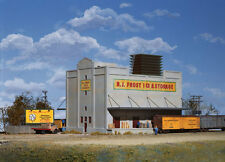 RJ Frost Cold Storage Building kit, Concrete Building , 4-Stories?? HO scale