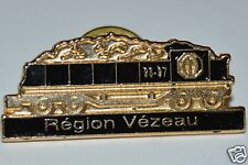 WOW Nice Optimist International Train Coal Car Region Vezeau Lapel Jacket Pin