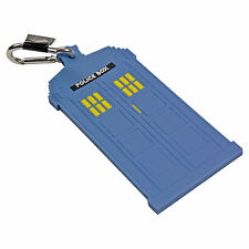 DOCTOR WHO STYLE TARDIS LUGGAGE TAG - Suitcase Holiday Baggage Clip Travel Gift