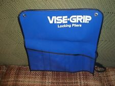 ONE BRAND NEW VISE GRIP ROLL UP TOOL POUCH PETERSEN AMERICAN TOOL CO.