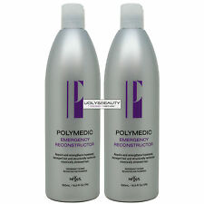 Nexxus Aloxxi Polymedic Emergency Reconstructor 500 ml -Pack of 2 with Free Gift