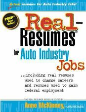 Real-Resumes for Auto Industry Jobs-ExLibrary