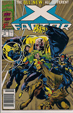 X-FACTOR 71 1st & GOLD 2nd Print Variant NEW TEAM 1st Peter David Feral Maddrox