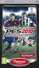Pro Evolution Soccer PES 2010 Platinum SONY PSP IT IMPORT KONAMI