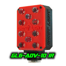 Ghost Light GL6-ADV IR Infrared LED Night Vision Camera Light Paranormal - Red -