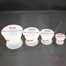 New Dental Lab Silicone Mixing Bowl Cup 4 pcs/set