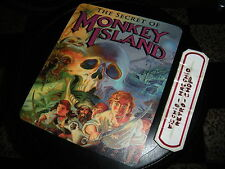 Secret Of Monkey Island Mousepad 90's Tappetino Mouse Lucasfilm Adventure Game!