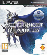 WHITE KNIGHT CHRONICLES for Playstation 3 PS3 - with box & manual