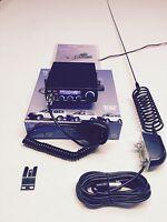 4 x 4 CB Radio AM/FM Starter Kit Team TS-6M Springer CB Antenna & Side Mount